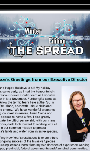 quarterly newsletter provides invasive species news